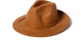 wholesale panama felt hat camel by dynamic asia