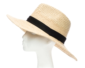 wholesale raffia straw safari dad hat