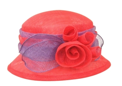 wholesale red hat society hats - bucket hats with something special - los angeles wholesaler