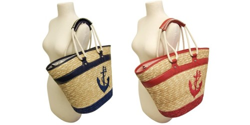 wholesale resort accessories beach bags straw nautical
