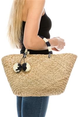 4e960bf32d wholesale straw beach bags - Wholesale Straw Hats   Beach Bags