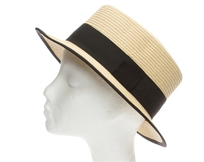 wholesale straw boater hats and boater hats