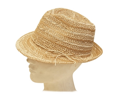 wholesale straw fedoras