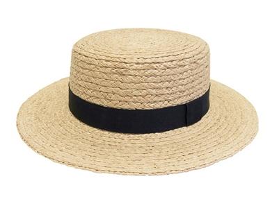 wholesale straw hats boaters women