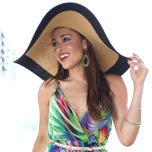 wholesale straw hats - elizabeth keene - los angeles style blogger for Dynamic Asia