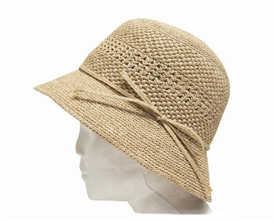 wholesale straw summer bucket hats