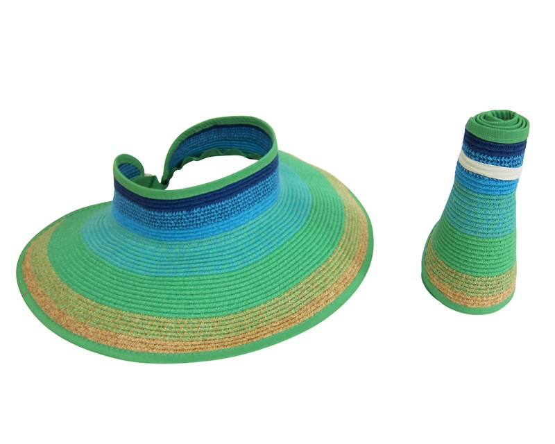 wholesale-striped-butterfly-sun-visors-hat-distributor-los-angeles-california