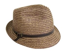 wholesale summer woven fedora dad hat