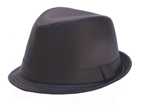 wholesale vegan leather hats