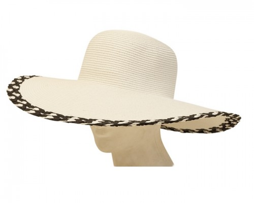 wholesale wide brim sun hats white southwestern brim