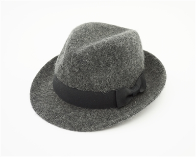 d2b8792ff23 Wholesale Grey Kids Fedora Hats - Winter Hat