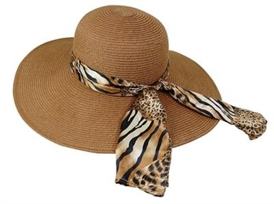 c15150b62ce bulk floppy hats wholesale sun hats los angeles leopard print sash